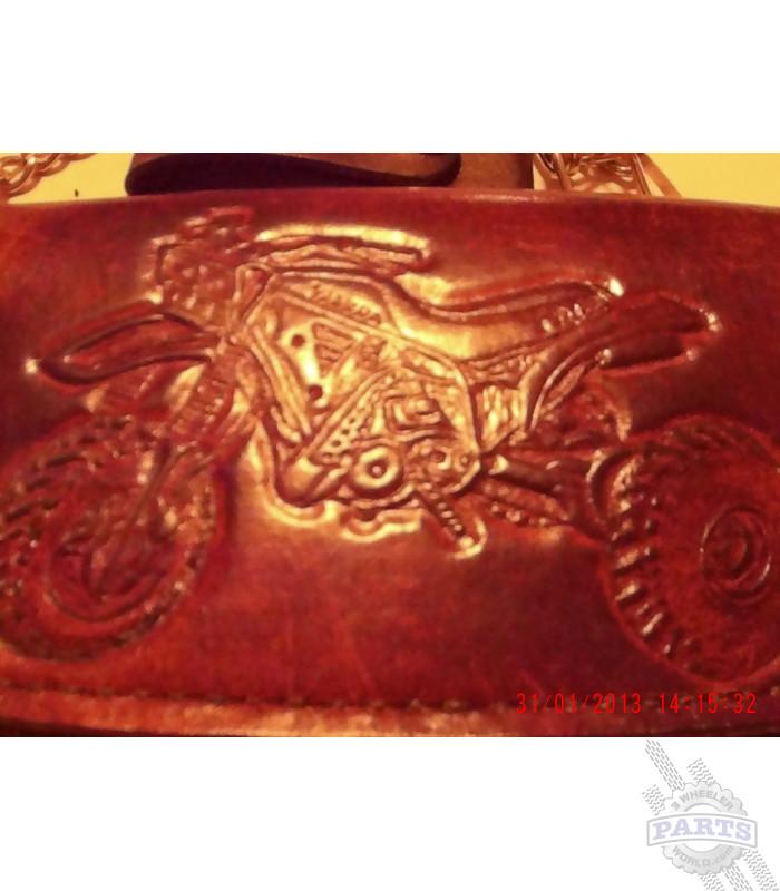 Leather Trikers Wallet