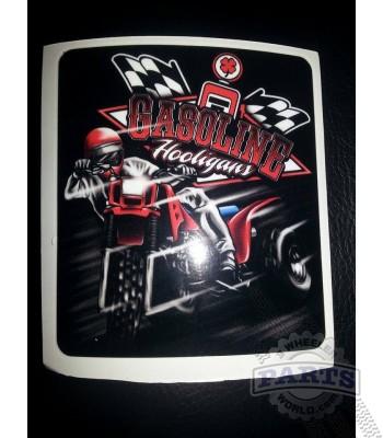 Gasoline Hooligans ATC 250r 3x3 sticker