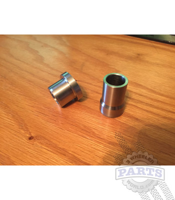 Honda sport trike stainless axle spacers
