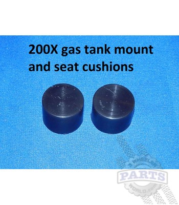 Gas tank rubber mount
