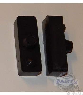 ATC250R Middle rubber seat grommets (BLACK)