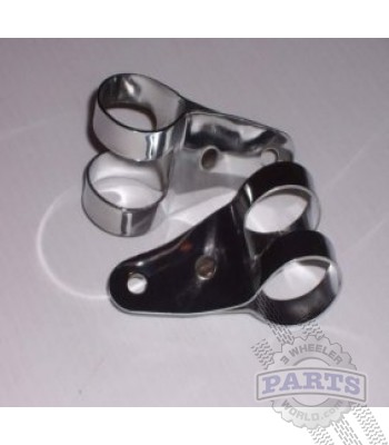 US90/ATC90 Chrome Headlight Bracket Kit